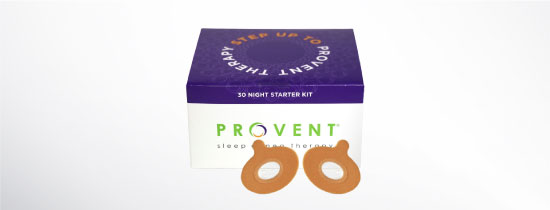 Provent sleep apnea therapy 30 day pack
